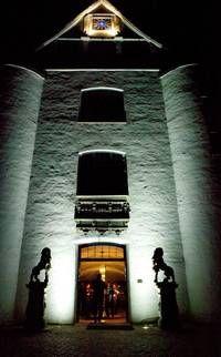 New illumination at Schloss Glücksburg!
