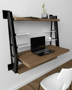 Graceful Industrial Home Design Ideas – Home Office Design Vintage Industrial Home Design, Industrial Bookshelf, Vintage Industrial Furniture, Industrial House, Rustic Furniture, Office Furniture, Diy Furniture, Furniture Design, Industrial Office