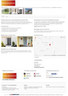 fenster-discount.ch, Weiningen, Veka Fenster, Thurgau, Hella Storen,m Kompotherm, Roto Dachfenster