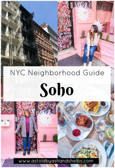 Do you ever find yourself wandering around NYC with no idea where to start? Our Neighborhood Guides help you streamline and plan your trip! New York Travel Guide, New York City Travel, London Travel, Travel Tips, Travel Usa, Hawaii Travel, Italy Travel, York Things To Do, Weekend In Nyc