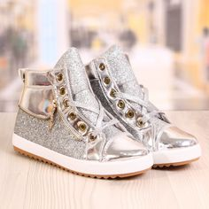 Ghete Dama Blaxy Sidex Silver Cod: 879 Cod, High Tops, High Top Sneakers, Silver, Shoes, Fashion, Moda, Zapatos, Shoes Outlet