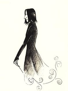 My favourite art of Snape.