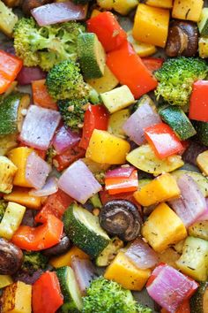 do-not-touch-my-food:  Roasted Vegetables