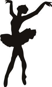 silueta de bailarina para imprimir - Pesquisa Google                                                                                                                                                      Más