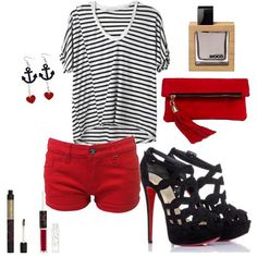 I wouldst DIE for a pair of louboutins ...I'm all about the nautical this summer