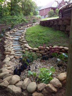 The nice thing about these river rock landscaping ideas is that they can be applied very fast. Certainly worth your time if you want value and quality.