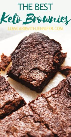 These decadent keto brownies are insanely delicious, crispy around the edges and perfectly gooey in the middle. Gluten free, keto, low carb, nut free. #lowcarbrecipes #ketorecipes #ketodesserts #glutenfree