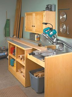 Miter Saw Station | Woodsmith Plans