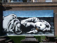 """RT New Street Art by Zabou Artist in London Places Of Interest, Brewery, Teak, Lion Sculpture, Statue, London, Artist, Painting, Artists"