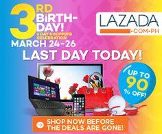 Manikang Hapon: Top Deals at Lazada's 3 Day Birthday Sale