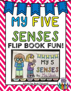 **Download the PREVIEW to see the ENTIRE download!!!**This 5 Senses Science Flip…