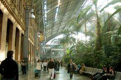 ARQUITECTURA ::: EL HIERRO - Estación de tren de Atocha en Madrid
