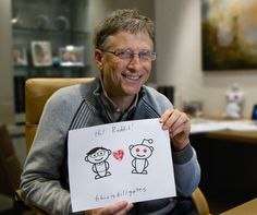 The highlights from Bill Gates' AMA