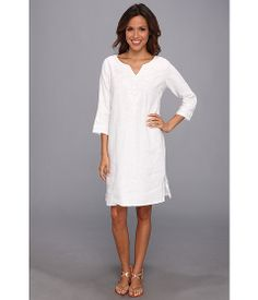 Tommy Bahama Two Palms Embroidered Dress