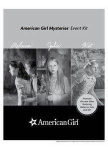American Girl printables