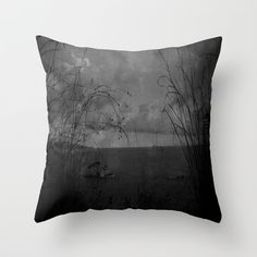 Forever Throw Pillow by Fenia Stavra - $20.00