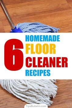 6 Homemade Floor Cleaner Recipes – How to Clean Your Floors - Holz Natural Cleaning Recipes, Deep Cleaning Tips, House Cleaning Tips, Cleaning Hacks, Cleaning Solutions, Natural Floor Cleaners, Homemade Floor Cleaners, Floor Cleaner Recipes, Diy Floor Cleaner