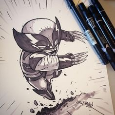 Commission - Wolverine by DerekLaufman on DeviantArt