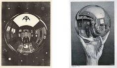 Resultado de imagen para mc escher still life with spherical mirror