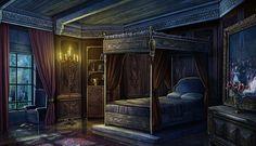 Château of Vincennes castle rooms Fantasy Rooms, Fantasy Bedroom, Fantasy Castle, Fantasy Places, Bedroom Art, Castle Rooms, Castle Bedroom, Medieval Bedroom, Anime Places