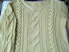 Miranda Openwork Cable Pullover - 1 by Adrienne Vittadini