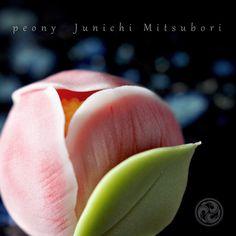"#JunichiMitsubori #wagashi #kadou #Sweets #Artist #Japanese #Confectionery #works #instaphoto #instasweets #侘寂 #wabisabi #prayforkyushu #一日一菓 「 #牡丹 」 #煉切 製 wagashi of the day "" #peony "" #和菓子 #neriki #一菓流 #菓道"