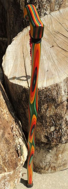 Rainbow Dymondwood