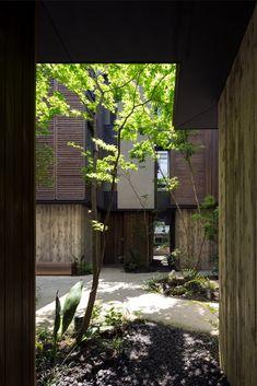 via heavywait - modern design architecture interior design home decor & Ishikawa, Inspirations Magazine, Patio, Architecture, Decoration, Exterior Design, Minimalism, Japan, Fresh