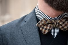 bow tie & patterns