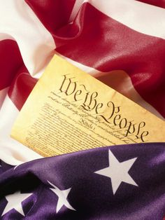 We the people, of these United States, in order to form a more perfect union,hold these truths to be self-evident.