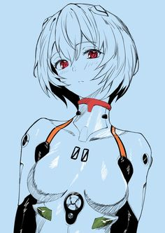 Rei Ayanami drawn by LDFE_MK2 : evangelion Rei Ayanami, Manga Art, Anime Art, Character Art, Character Design, Mecha Anime, Anime Girl Drawings, Neon Genesis Evangelion, Animes Wallpapers