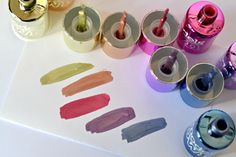 London Beauty Queen: NEW: Models Own 'Colour Chrome' Liquid Metal Nail Collection