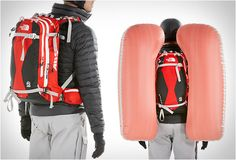 THE NORTH FACE AVALANCHE AIRBAG PACK  For when you find yourself in an avalanche of Zombies...