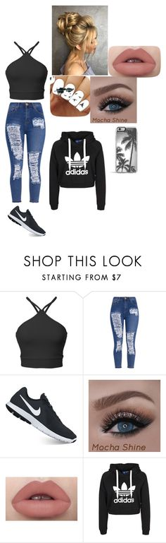 """""""adidas"""" by punk-764 on Polyvore featuring NIKE"""
