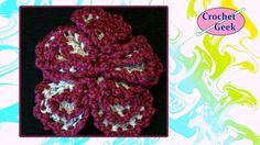 Crochet Geek - Crochet  Spherical Flower Crochet Geek