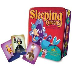 Sleeping Queens 10th Anniversary Card Game, Multicolor