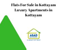 Flats For Sale in Kottayam - Luxury Apartments in Kottayam Book luxury apartments in Kottyam from Abad builders. The flats for sale in Kottayam are available from Abad builders. Book your flats and apartments in Kottayam.