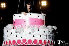 Jaejoong in a cake! (Your, My, Mine fan meeting)