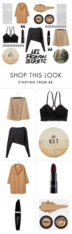 """Friday"" by maggiec003 ❤ liked on Polyvore featuring American Eagle Outfitters, Crea Concept, GET LOST, MANGO and Max Factor"