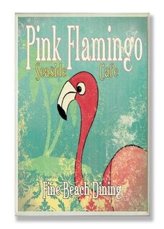 The Stupell Home Decor Collection Pink Flamingo Cafe Wall Plaque The Stupell Home Décor Collection http://www.amazon.com/dp/B007W0VTJ2/ref=cm_sw_r_pi_dp_jJJuwb0W24EYH