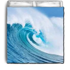 Ocean Wave Eco Friendly & Made in USA Surfer Bedding Beach Comforter