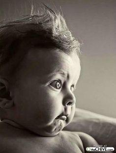 Hehe, funny baby <3