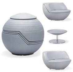Stacking Patio Furniture. Rattan Outdoor Furniture, Contemporary Outdoor  Furniture, Modern Contemporary, Transforming