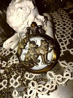 Wolf Watch/clock