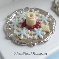 Christmas Snowflake Cookie Platter and Candle IGMA by dpaone