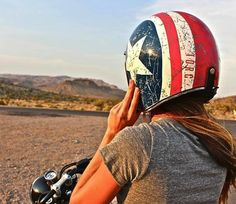 You're a core rider. You want as little between you and the experience as you can get. The TORC T50 is your #helmet. - http://thegadgetflow.com/portfolio/rebel-star-helmet/