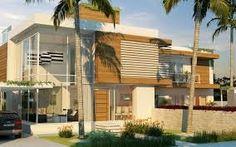 projeto de casa alto padrão