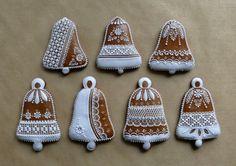 Christmas Gingerbread, Christmas Cookies, Christmas Ornaments, Crazy Cookies, Holiday Decor, Crack Crackers, Christmas Bells, Noel, Ginger Beard