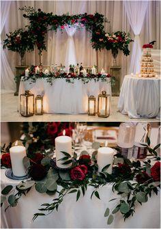 Gabrielle + John's Columbus Event Centre Wedding Wedding Decorations, Table Decorations, Centre, Art Gallery, Rose, Floral, Home Decor, Furniture, Art Museum