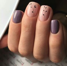 80 Awesome Minimalist Nail Art Ideas - You can find Toenails and more on our Awesome Minimalist Nail Art Ideas - Perfect Nails, Gorgeous Nails, Pretty Nails, Minimalist Nail Art, Toe Nails, Pink Nails, Nail Nail, Nagellack Trends, Manicure E Pedicure